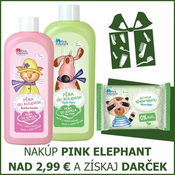 PINK ELEPHANT DARČEK