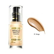 MF makeup Miracle Match 55 beige