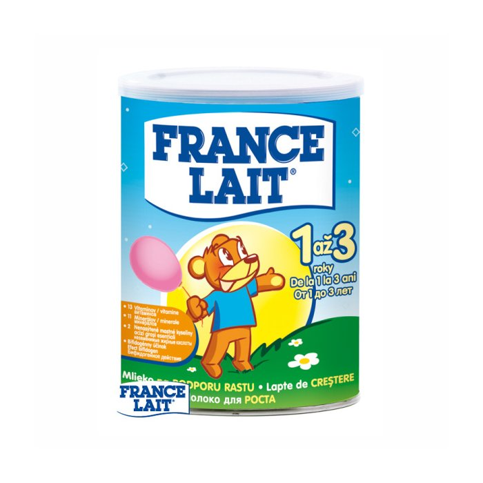 FRANCE Lait 3 400g Growing up od 1ro