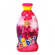 BOBINI sampon 2v1 400ml ruzovy