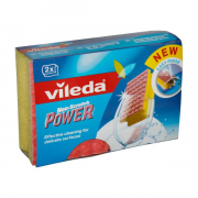 VILEDA spongia ex.power na sklo 2ks