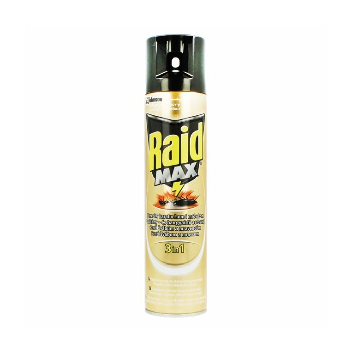RAID 400ml spray MAX lezuci hmyz