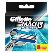 GILLETTE Mach3 NH 8ks Turbo