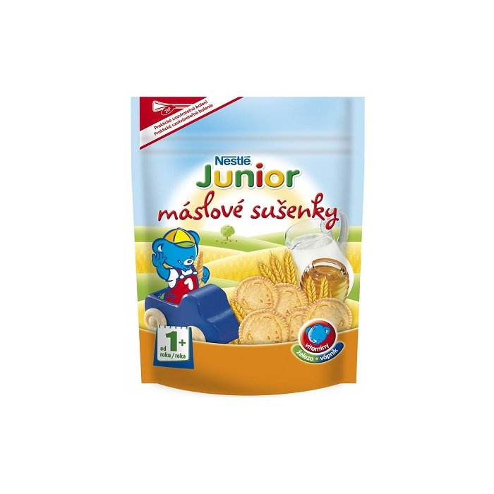 NESTLE junior susienky masl.1+ 180g