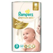 PAMPERS premium midi 60ks