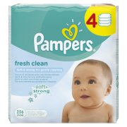 PAMPERS det.vlh.utierky 4x64ks Fresh