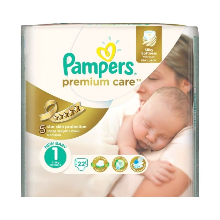 PAMPERS Premium MP Newborm 22