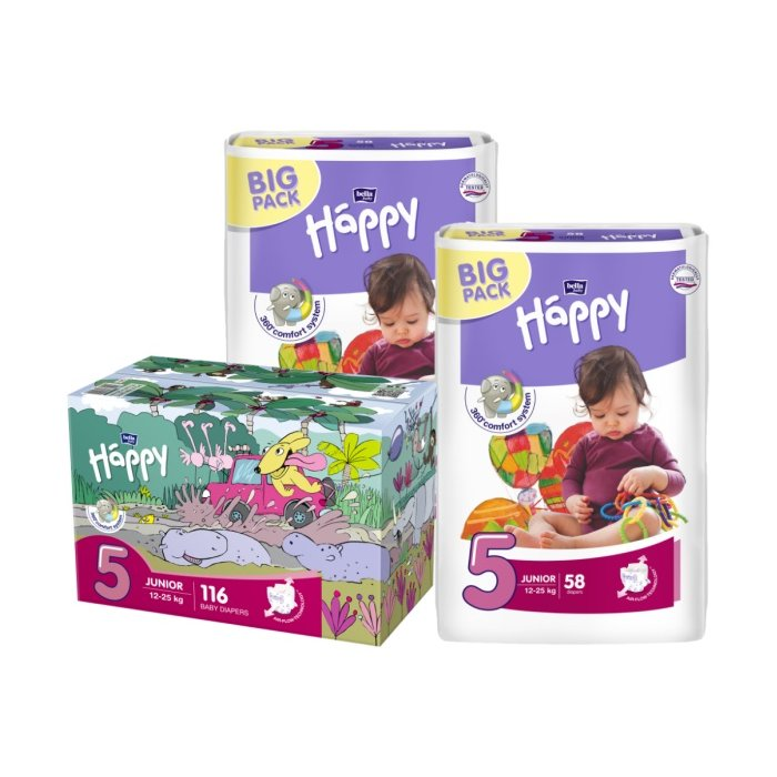 BELLA Happy Pack Junior 58ksx2