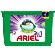 ARIEL gel kapsule 14PD/krab Color