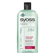 SYOSS sampon 500ml Silikon Free Colo