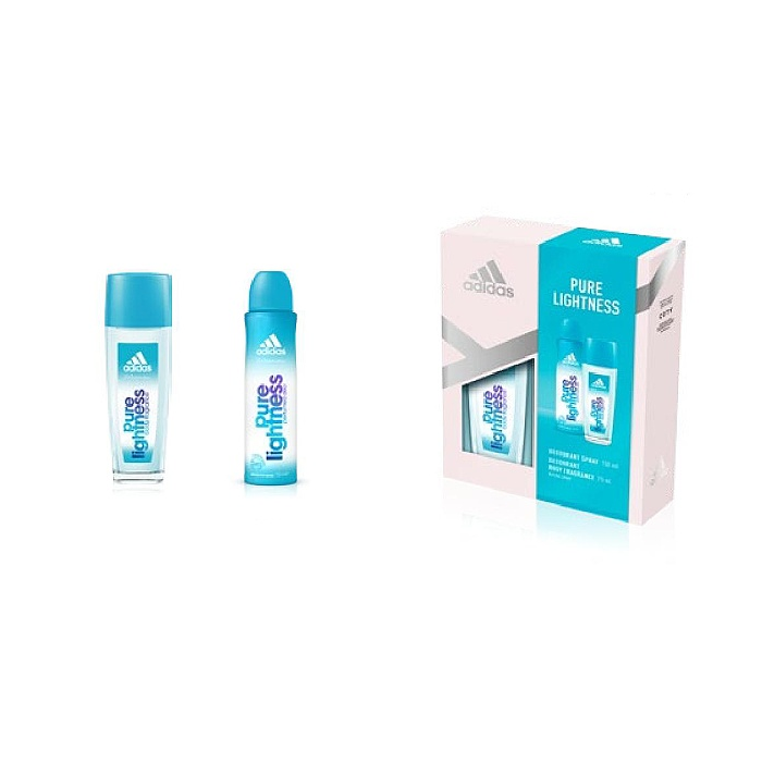 AD X18 Pure Lightness Deo+DNS75ml W