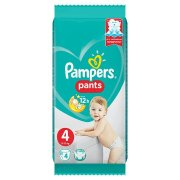 PAMPERS Pants S4 4ks/Fol