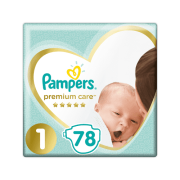 PAMPERS Premium S1 78ks Newborn
