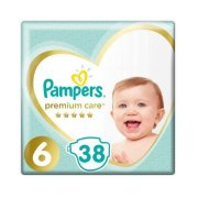 PAMPERS Premium S6 38ks/Fol