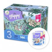 BELLA Happy BOX 3 midi 72ks 6-9kg x2