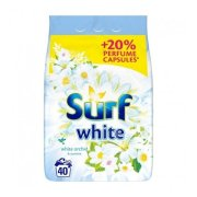 SURF prasok White orchidea 40PD