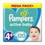 PAMPERS MPP 120ks Maxi+ 4+ 10-15ks