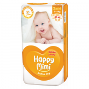 HAPPY Mimi Active DryMini 56ks 3-6kg