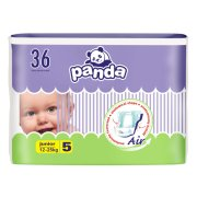 PANDA plienky Junior 12-25kg 5 36ks