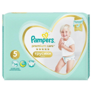 PAMPERS Pants Premium S5 34ks