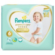 PAMPERS Pants Premium S6 31ks