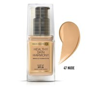 Max Factor Healthy Skin Harmony Foundation, tekutý make up 47 Nude, 30ml