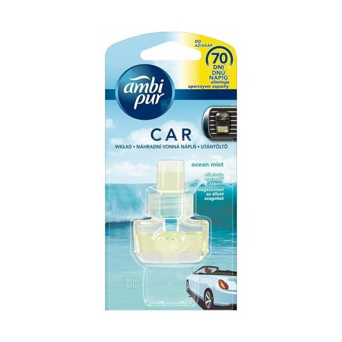 Ambi Pur Car Fresh Escapes Aqua náplň 7 ml