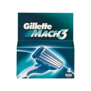 GILLETTE Mach3 NH 4ks