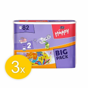 BELLA HAPPY Mini 2 Big Pack plienky SET 3 x 82 ks