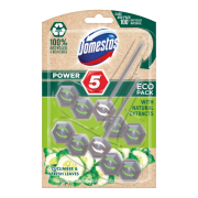 Domestos Power 5 Cucumber & Fresh Leaves ECO tuhý WC blok 2 x 55 g