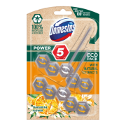 Domestos Power 5 Tangerine Flower ECO tuhý WC blok 2 x 55 g