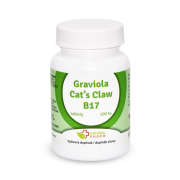 Graviola + Cat´s Claw /Mačací pazúr/ + B17 35 mg tablety 100 ks