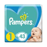 PAMPERS Newborn 43ks
