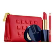ESTÉE LAUDER Red Lip Set, Darčeková kazeta Pure Color Envy Sculpting Lipstick 3,5g