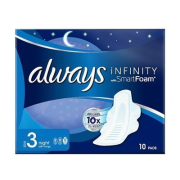 ALWAYS Infinity 10ks Night