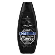 SCHAUMA sampon 400ml Men 3v1 Charcoa
