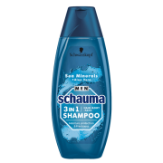 SCHAUMA sampon 400ml Men 3v1SeaMiner