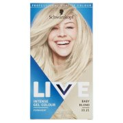 LIVE gel Colour 10.21 Baby blond