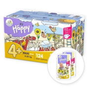 BELLA Happy Box 4+ Maxi plus 62ksx2