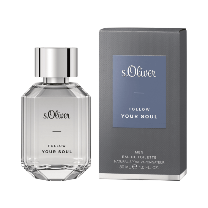 S.OLIVER FOLLOW YOUR SOUL(M)EDT30ml